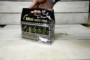 Hover over to zoom, click to enlarge Gardening Presents: Seed Tins - Salad Collection