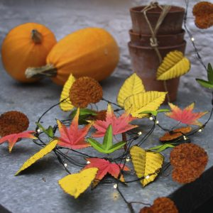 Gardening Presents: Autumn Leaves Lights